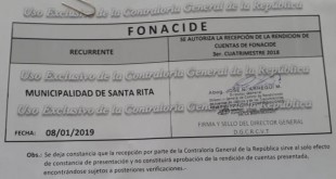 FONACIDE 3ER CUATRIMESTRE 2018